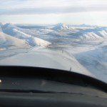 view from a bush plane